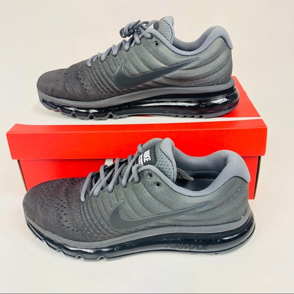 low priced fa58d 6ced9 Nike Air Max 2017 Running Shoes Cool Grey New NWT